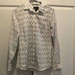 J crew perfect fit button down